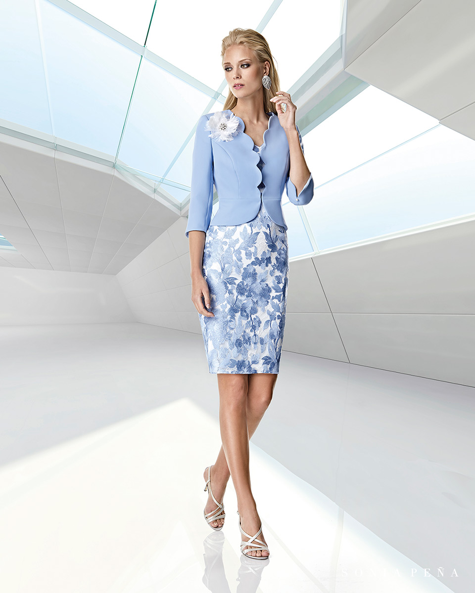 Party dresses. Spring-Summer Trece Lunas Collection 2020. Sonia Peña - Ref. 1200039