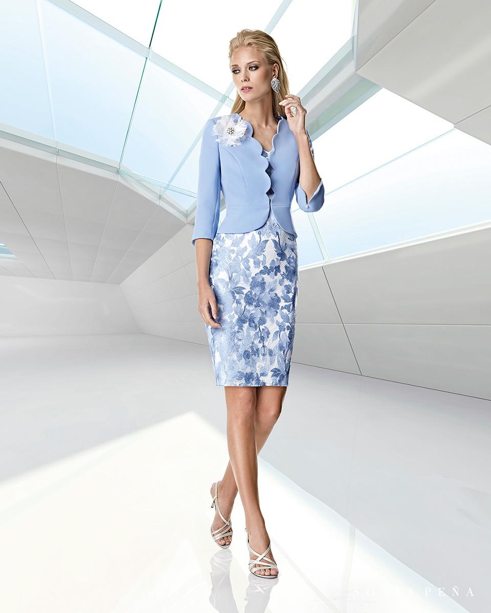 Jacket dress. Spring-Summer Trece Lunas Collection 2020. Sonia Peña - Ref. 1200039