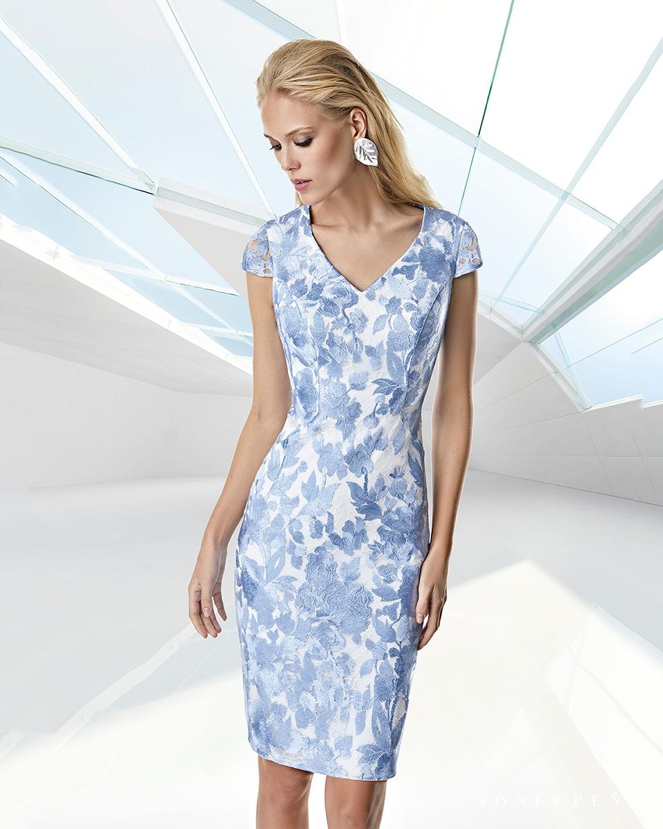 Short dress. Spring-Summer Trece Lunas Collection 2020. Sonia Peña - Ref. 1200039A