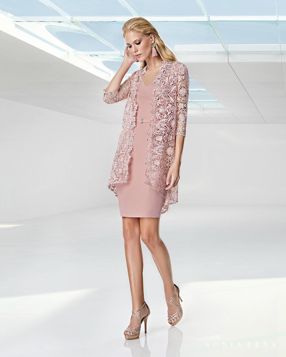 Jacket dress. Spring-Summer Trece Lunas Collection 2020. Sonia Peña - Ref. 1200041