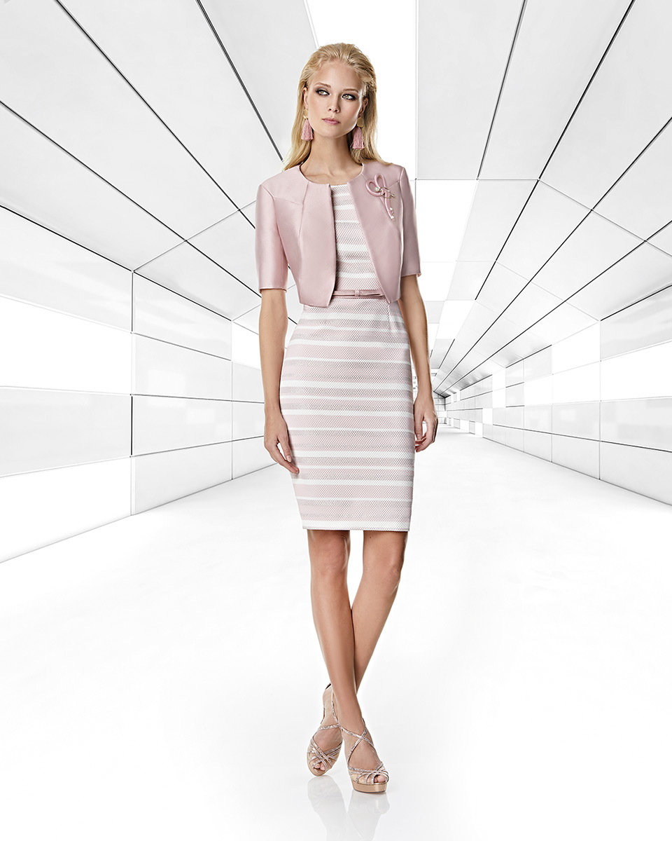 Jacket dress. Spring-Summer Trece Lunas Collection 2020. Sonia Peña - Ref. 1200045