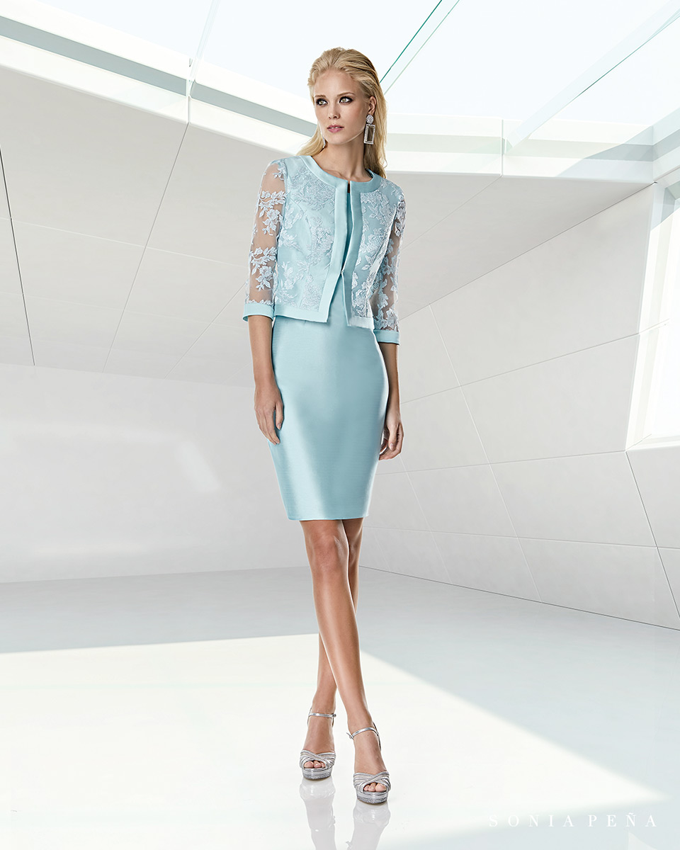 Jacket dress. Spring-Summer Trece Lunas Collection 2020. Sonia Peña - Ref. 1200046