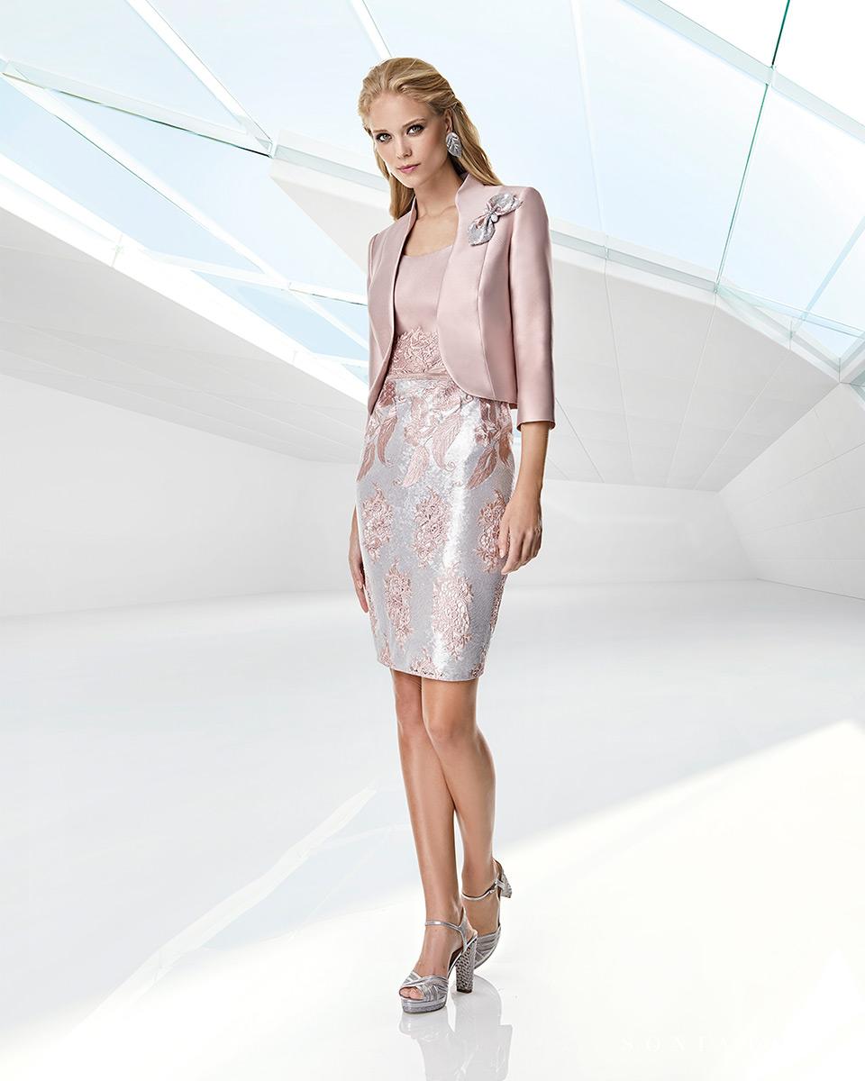 Jacket dress. Spring-Summer Trece Lunas Collection 2020. Sonia Peña - Ref. 1200048