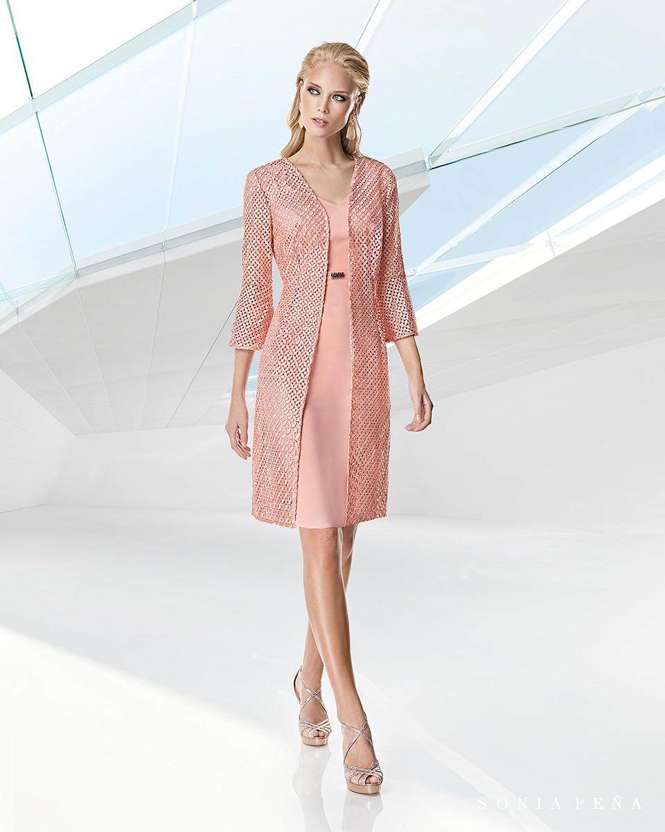 Jacket dress. Spring-Summer Trece Lunas Collection 2020. Sonia Peña - Ref. 1200050