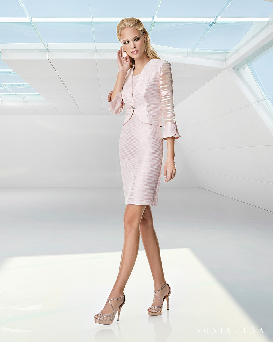 Jacket dress. Spring-Summer Trece Lunas Collection 2020. Sonia Peña - Ref. 1200054