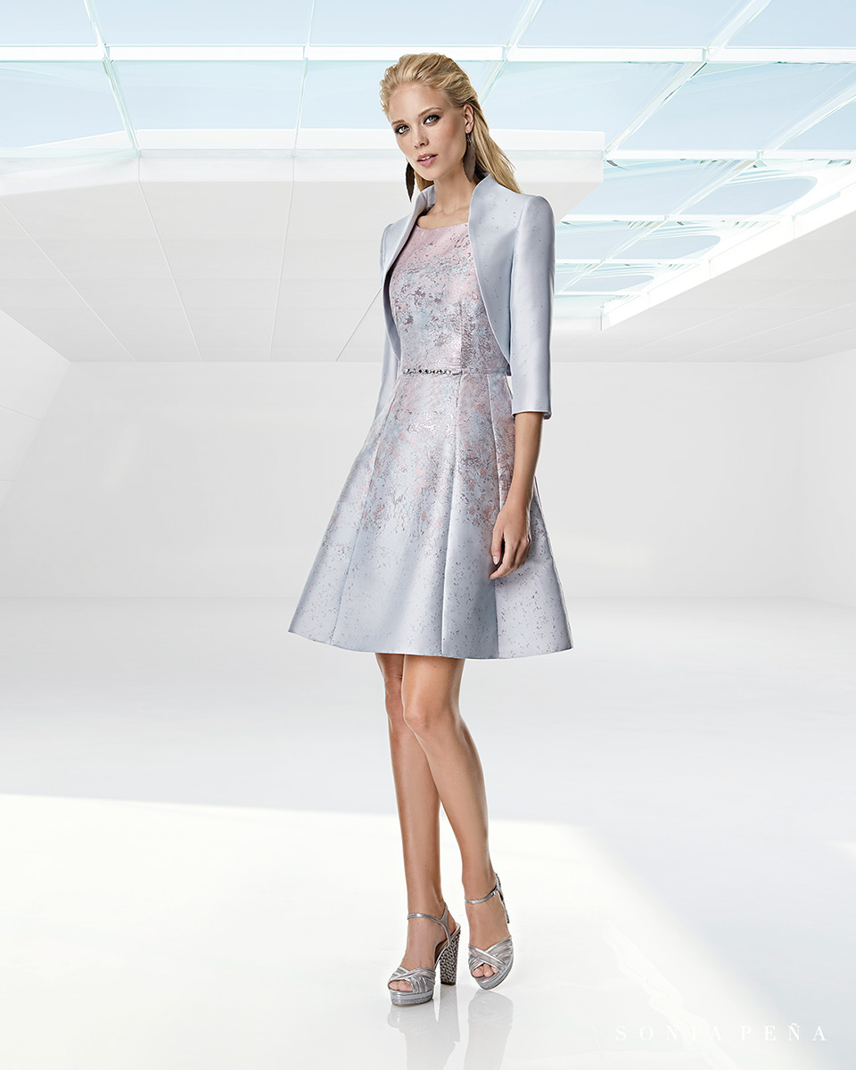 Jacket dress. Spring-Summer Trece Lunas Collection 2020. Sonia Peña - Ref. 1200058