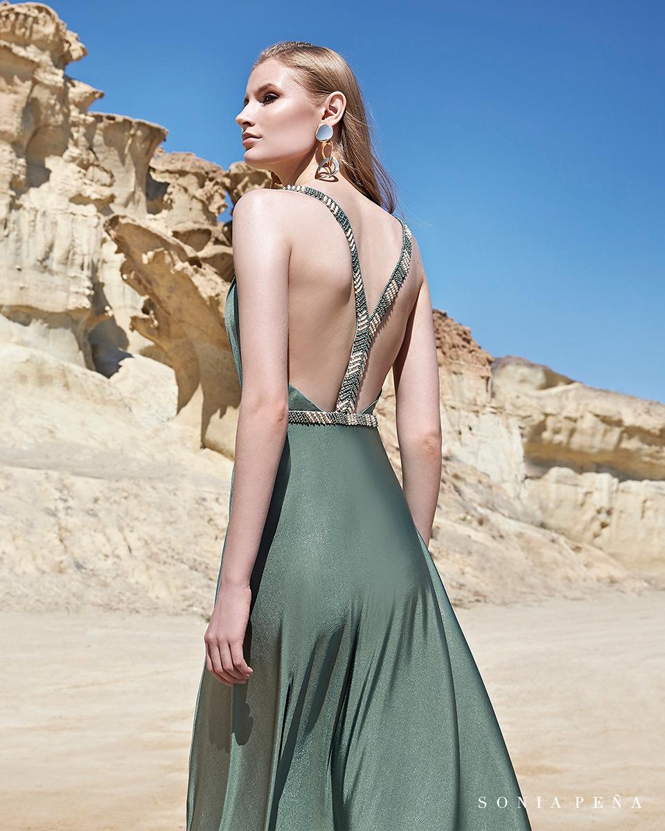 Robes de soirée, robes de Mére de la mariee. Complete 2020 Collection Printemps Eté Trece Lunas. Sonia Peña - Ref. 1200111