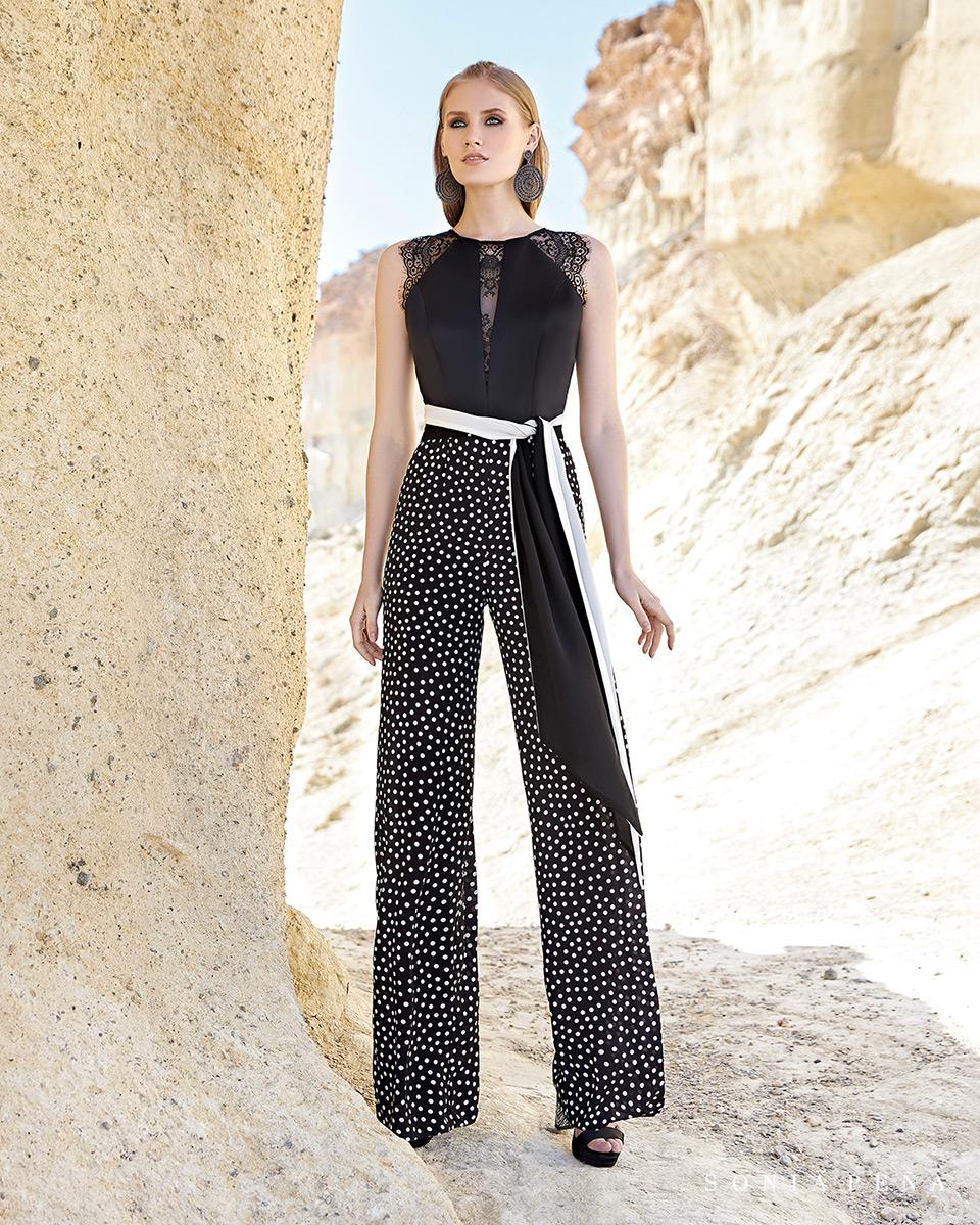 Vestidos de fiesta 2020. Colección Primavera Verano 2020 Trece Lunas. Sonia Peña - Ref. 1200113