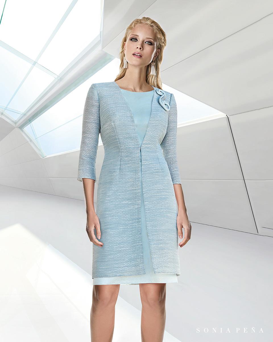 Jacket dress. Spring-Summer Trece Lunas Collection 2020. Sonia Peña - Ref. 1200116