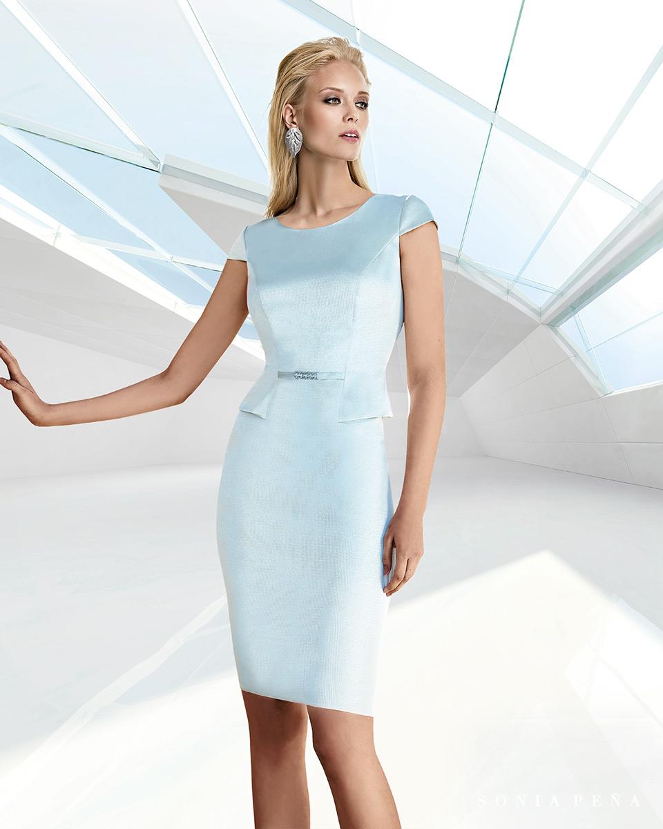 Vestido Corto. Colección Primavera Verano 2020 Trece Lunas. Sonia Peña - Ref. 1200116A