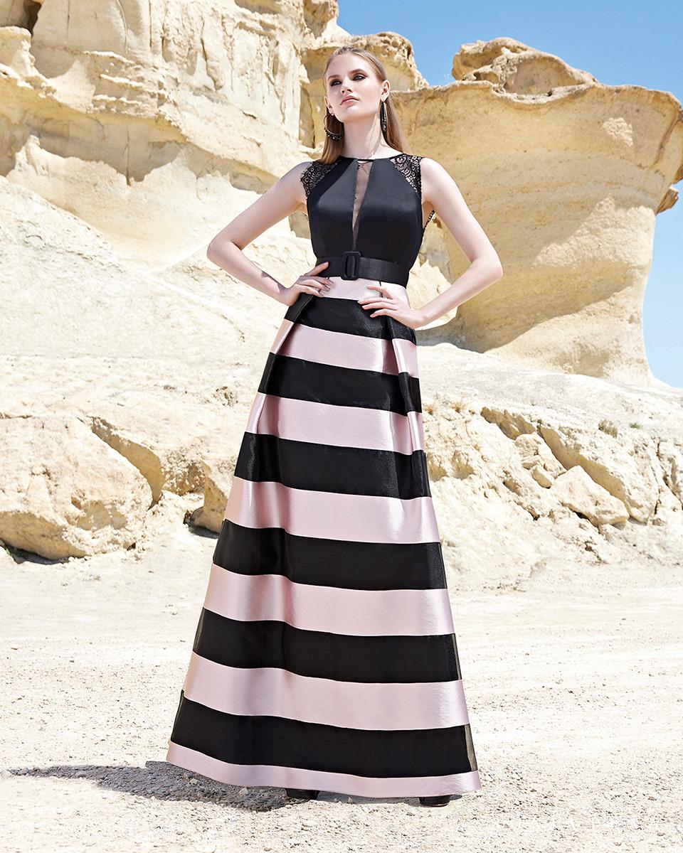 Vestido Largo. Colección Primavera Verano 2020 Trece Lunas. Sonia Peña - Ref. 1200122