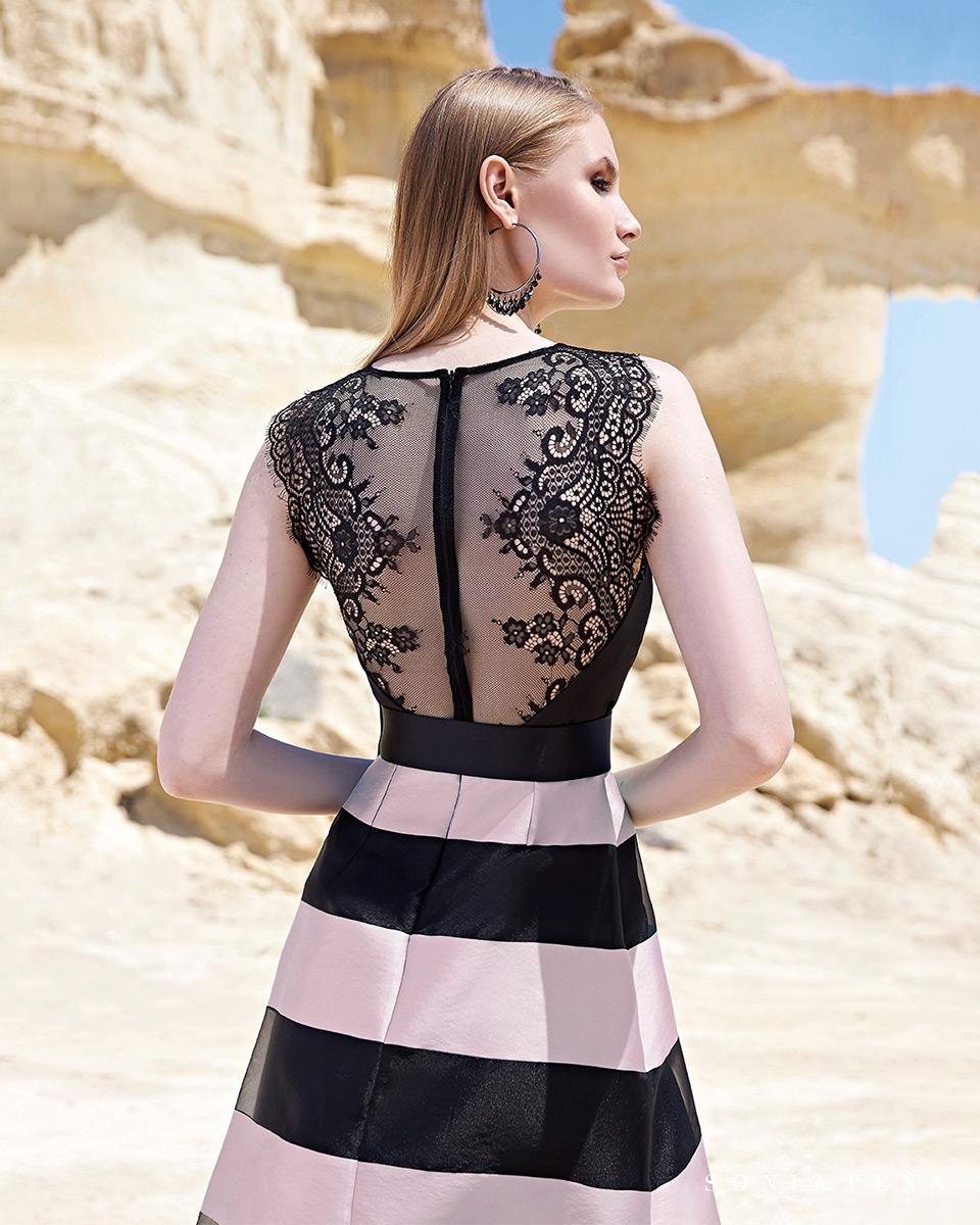 Long dress. Spring-Summer Trece Lunas Collection 2020. Sonia Peña - Ref. 1200122