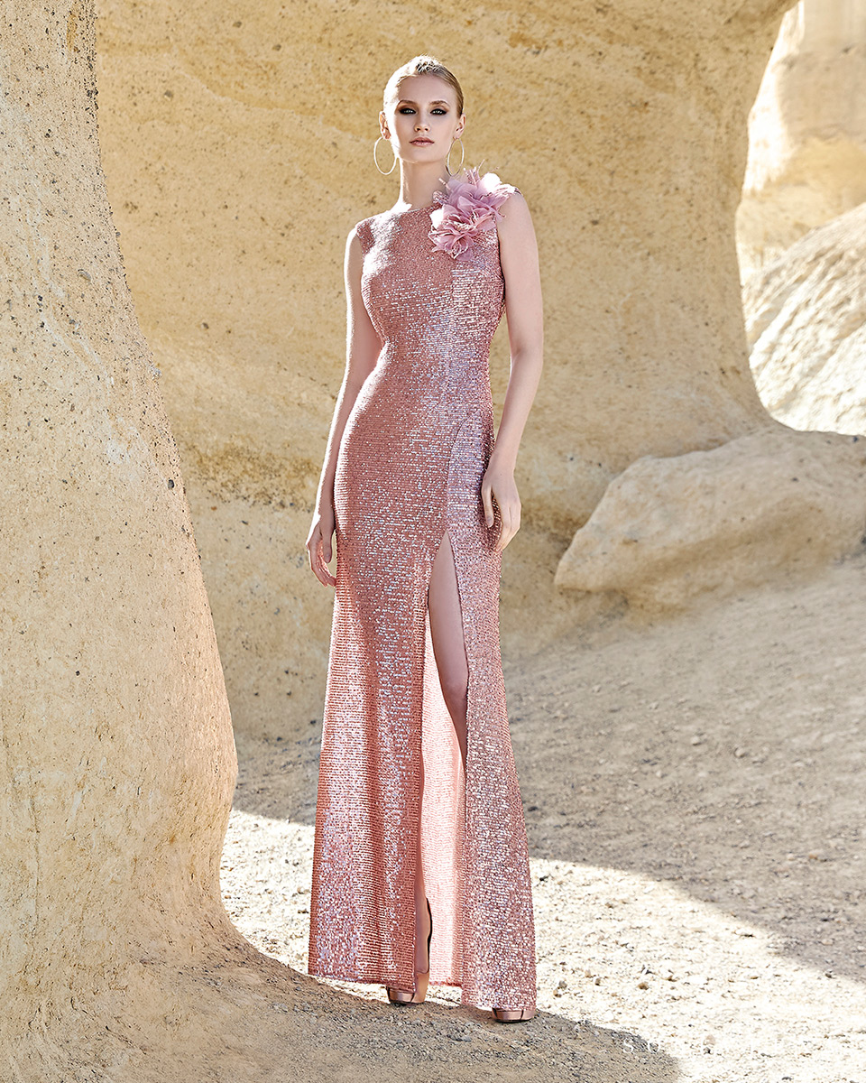 Vestidos de fiesta 2020. Colección Primavera Verano 2020 Trece Lunas. Sonia Peña - Ref. 1200124