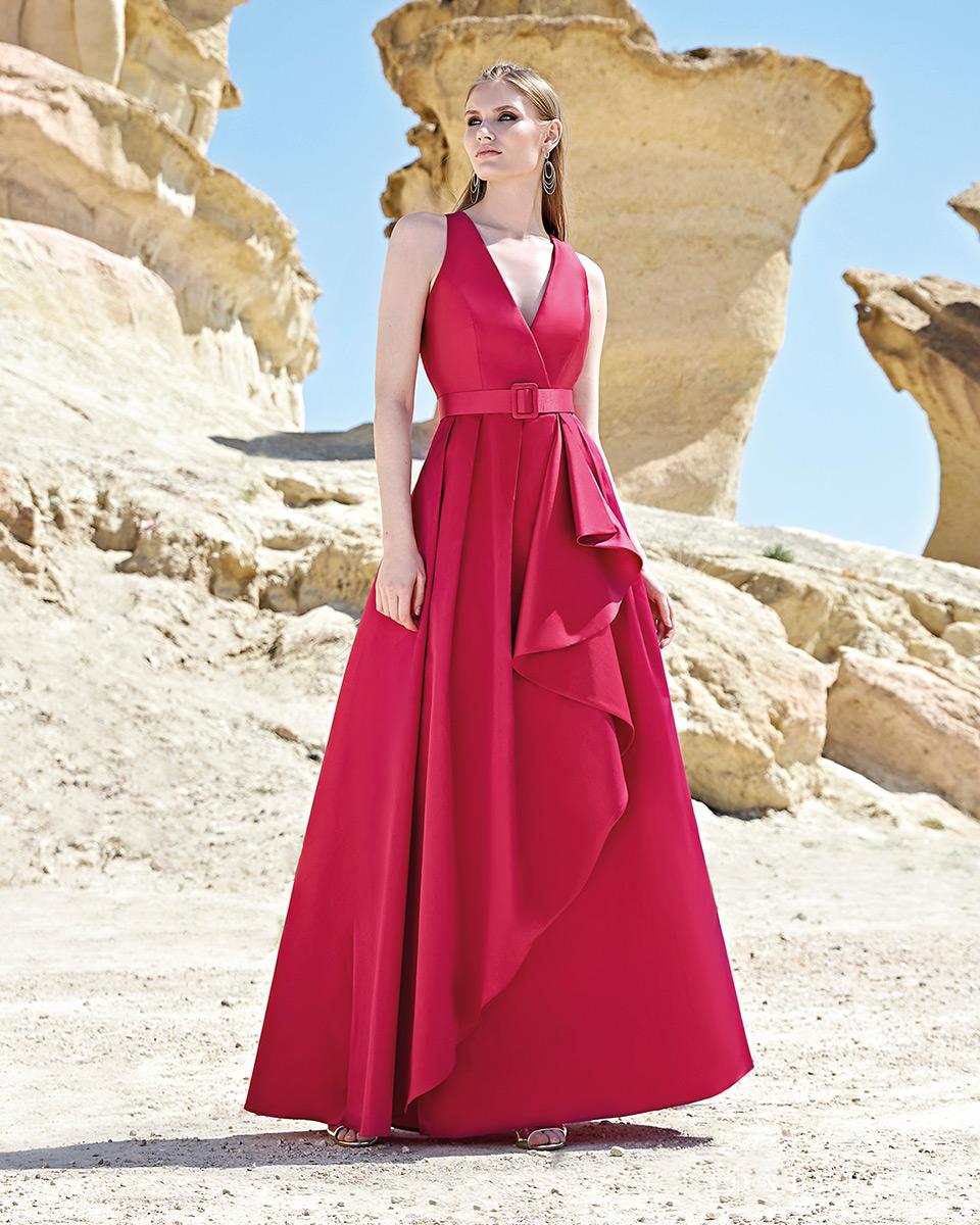 Vestido Largo. Colección Primavera Verano 2020 Trece Lunas. Sonia Peña - Ref. 1200126