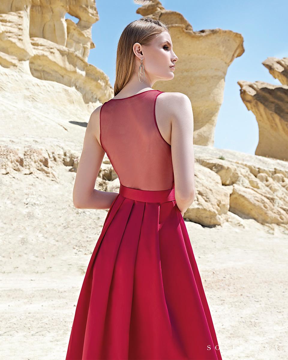 Long dress. Spring-Summer Trece Lunas Collection 2020. Sonia Peña - Ref. 1200126
