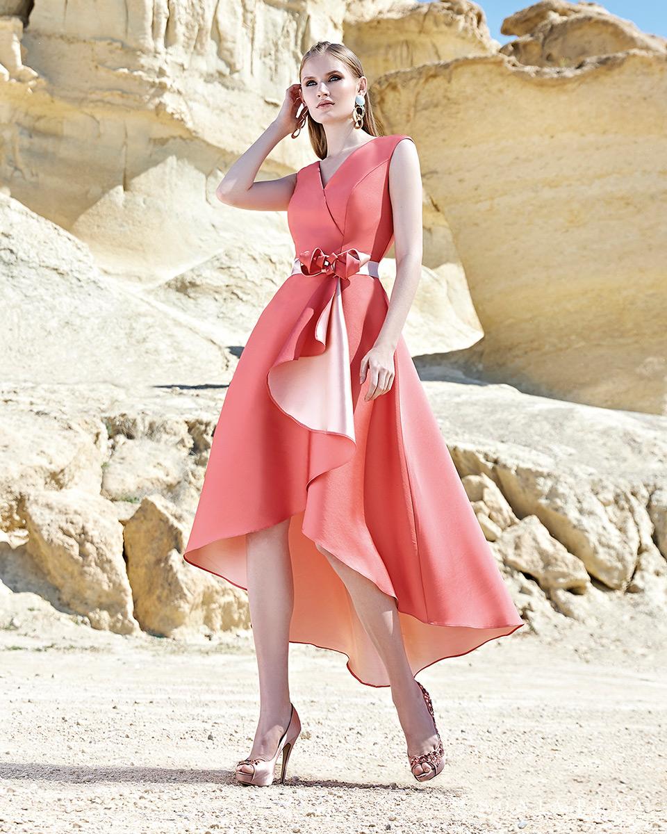 Short dress. Spring-Summer Trece Lunas Collection 2020. Sonia Peña - Ref. 1200128