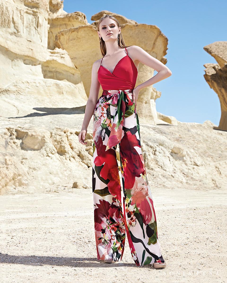 Robes de soirée, robes de Mére de la mariee. Complete 2020 Collection Printemps Eté Trece Lunas. Sonia Peña - Ref. 1200136