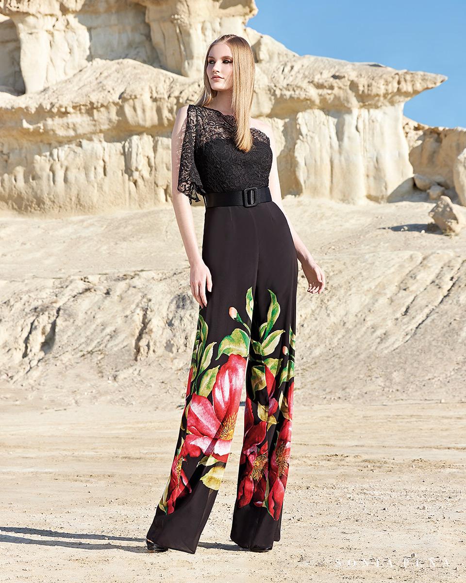 Robes de soirée, robes de Mére de la mariee. Complete 2020 Collection Printemps Eté Trece Lunas. Sonia Peña - Ref. 1200156