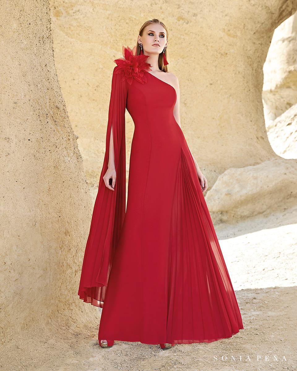 Robe longue, 2020 Collection Printemps Eté Trece Lunas. Sonia Peña - Ref. 1200160