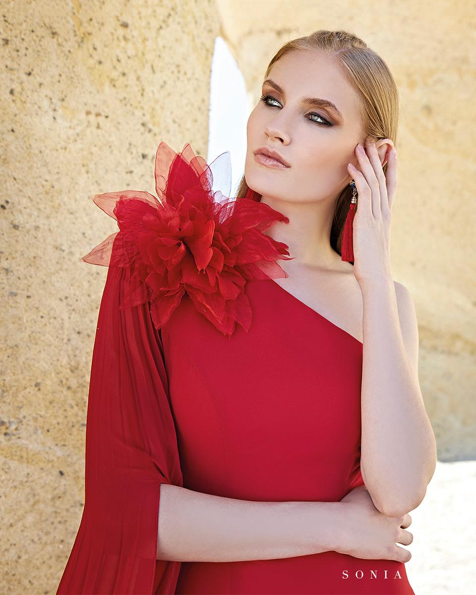 Vestido Largo. Colección Primavera Verano 2020 Trece Lunas. Sonia Peña - Ref. 1200160