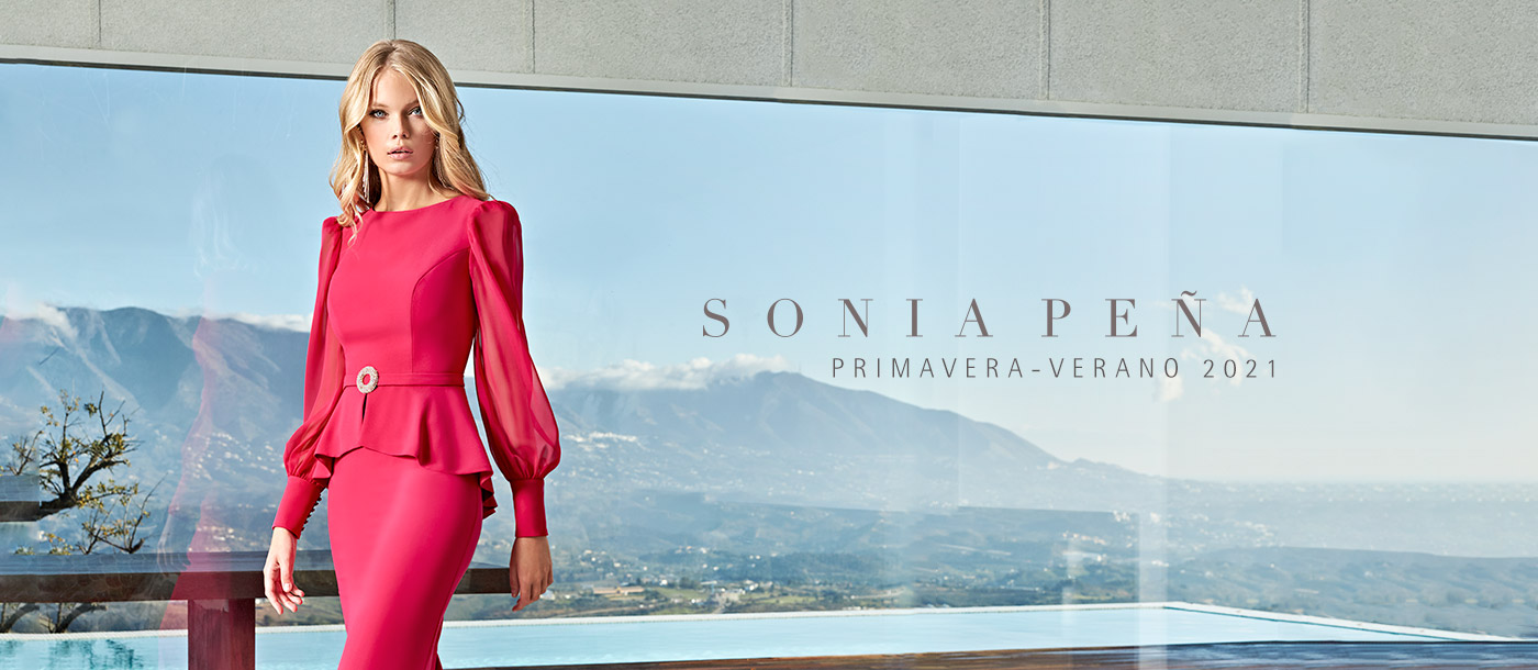 Party dress, Cocktail Dresses, Mother of the bride dresses. Complete Spring-Summer Solar Collection 2021. Sonia Peña