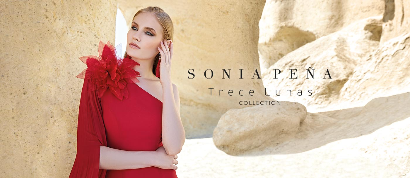 Party dress, Cocktail Dresses, Mother of the bride dresses. Complete Spring-Summer Trece Lunas Collection 2020. Sonia Peña